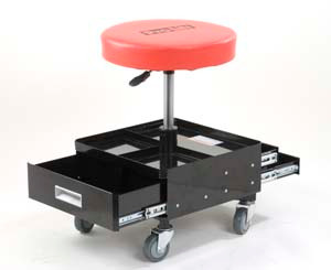 Pneumatic Creeper Seat with