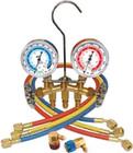 R134A Brass Manifold Set