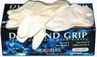 Diamond Grip Latex Gloves Lg