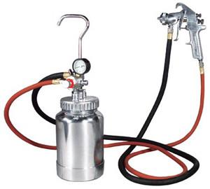 Pressure Pot Paint Gun Kit