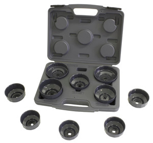 LS61450 10 Piece Oil Filter Cap Wrench Set