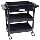 Service Cart with Tool Holder