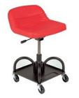 Adjustable Height Red Heavy
