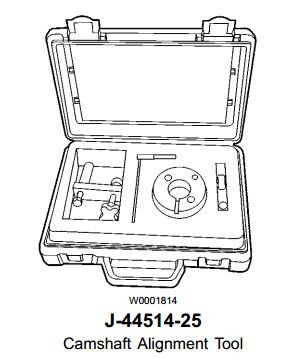 Kent Moore J-44514 Volvo D12 Engine Timing Alignment Kit