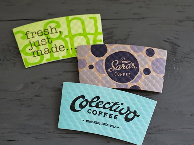 Custom Printed Coffee Cup Sleeves