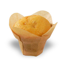 """LOTUS"" Golden Brown Silicone Baking Cup 1.5"" 