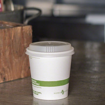 10 oz White Compostable Coffee Cups | Biodegradable Paper Hot Cups | 1000 Count