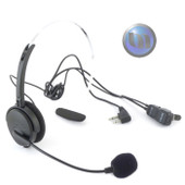 MIDLAND Headset W Mic & VOX/PTT Switch (2 Pin L Type) - Suits G7 & HP408