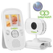 "UNIDEN 2.3"" LCD Baby Watch Wireless Monitor - 1 Camera - Night Light - ""Walkie Talkie"" Function"