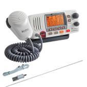 Cobra Marine VHF Radio 25W with Integrated GPS + S/Steel Antenna