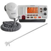 Cobra Powerful VHF Marine Radio 25W + Fibreglass Antenna kit