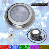 Swimming Pool LED Light RGB + Controller + Power - Very Powerful Colour Light - 2 Wire
