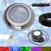 Swimming Pool LED Light RGB + Controller + Power + Cable - Very Powerful Colour Light - 2 wire