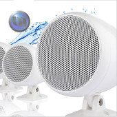 Mini Marine Waterproof Loudspeaker - 3 Inch - External Mount - White