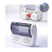 Marine Waterproof Radio Cover-DIN/Shaft-3 Inch Speakers-White