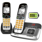 Uniden PREMIUM DECT 6.0 CORDLESS PHONE SYSTEM with  EXTRA HANDSET  - Integrated Bluetooth Technology and Answering Machine