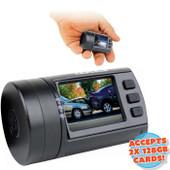"Axis COMPACT SUPER HD with GPS - 256GB CAPACITY - 1.5"" TFT LCD - Image Sensor: 4MP CMOS - Chipset: Ambarella A7"