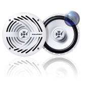 Blaupunkt 6.5 Inch 2-Way 180W White Marine Speaker High Quality NEW