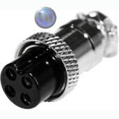 OPEK - 4-PIN FEM MICROPHONE PLUG