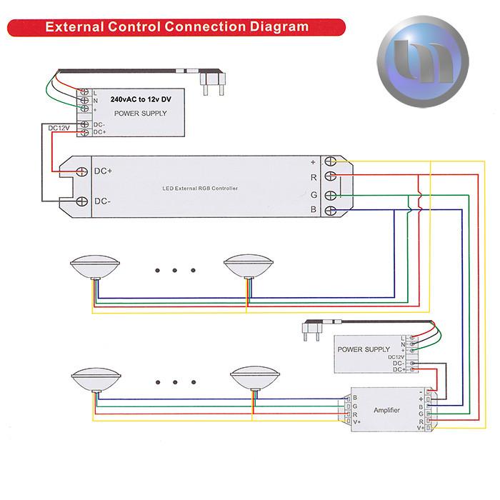 swimming pool spa led underwater light rgb multi colour ... intermatic pool timer wiring diagram swimming pool light wiring diagram