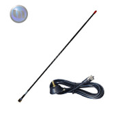 Axis 27Mhz CB Antenna Helical Whip + 3.6m Cable