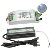 Waterproof Power Supply 60W + RGB Amplifier Kit - suitable for pool lights