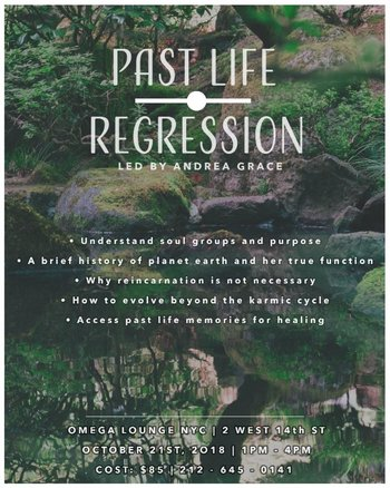 Past Life Regression with Andrea Grace