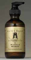 Massage Oil - Muscle Works