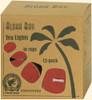 Red Eco Palm Wax Tea Lights