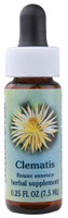 Flower Essence Clematis Herbal Supplement -- 0.25 fl oz
