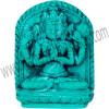 Mini Turquoise Powder Figurine Chenrezig