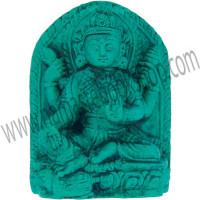 Mini Turquoise Powder Figurine Lakshmi