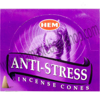 Hem Incense Cones in Display Box 10 cones Anti-Stress