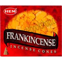 Hem Incense Cones in Display Box 10 cones Frankincense
