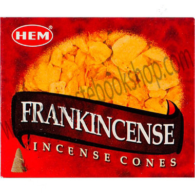 Hem Incense Cones in Display Box 10 cones Frankincense