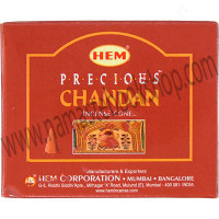 Hem Incense Cones in Display Box 10 cones Precious Chandan