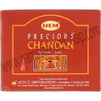 Hem Incense Cones in Display Box 10 cones Precious Chandan