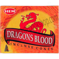Hem Incense Cones in Display Box Dragonsblood