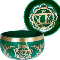 Chakra Singing Bowl Green - Heart Chakra