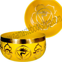 Chakra Singing Bowl Yellow - Solar Plexus
