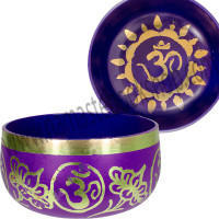 Chakra Singing Bowl Purple - Crown