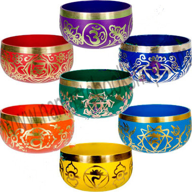 Chakra Singing Bowl Package (Set of 7)