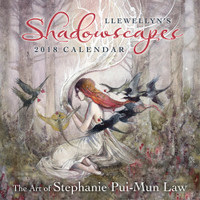 Llewellyn's 2018 Shadowscapes Calendar