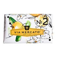 Via Mercato No.2 - Green Tea & White Musk Soap