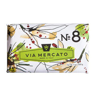Via Mercato No.8 - Clove, Vanilla Flower & Orange Soap