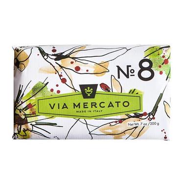 Via Mercato No.8 - Clove, Vanilla Flower & Orange Soap