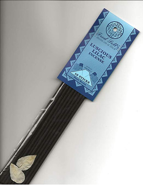 Fred Soll's Luscious Lilac Resin on a Stick Incense ( 10 Sticks )