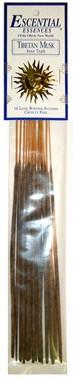 Escential Essences Incense: Tibetan Musk