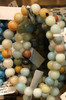 1 Mixed Amazonite Stretch Bead Bracelet 8mm NOTE: Stock image you will receive a similar bracelet.