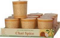 Chai Spice Scented Votive Candle